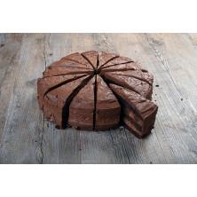 Suklaafudge-kakku 4 kpl 1500g 14 palaa kypsä pakaste