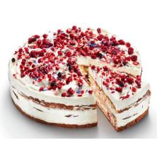 Berry White -kakku (korkea)  4 kpl 1250g 12 palaa sulatettava