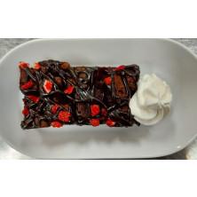 Mini Brownie red berries 108 kpl 3x3 cm